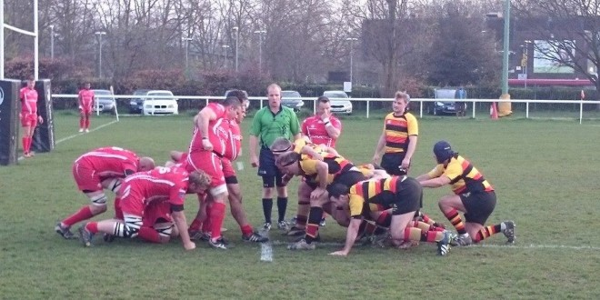 Richmond Heavies vs Army Masters