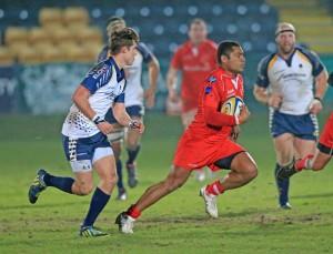 Sam Speight - Fiji flyer