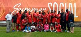 The winning team at Rugby Rocks Edinburgh 2013