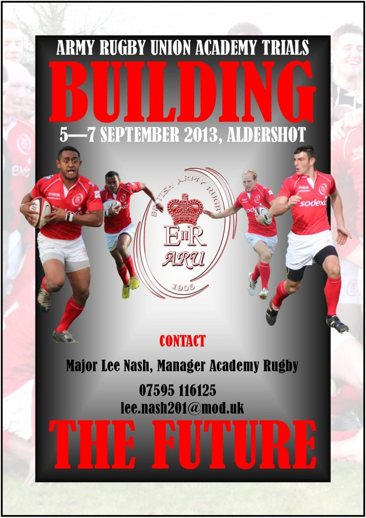 Academy Trials Poster 2013