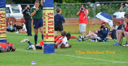 Match winning try in golden time in the final by Komaiyasa