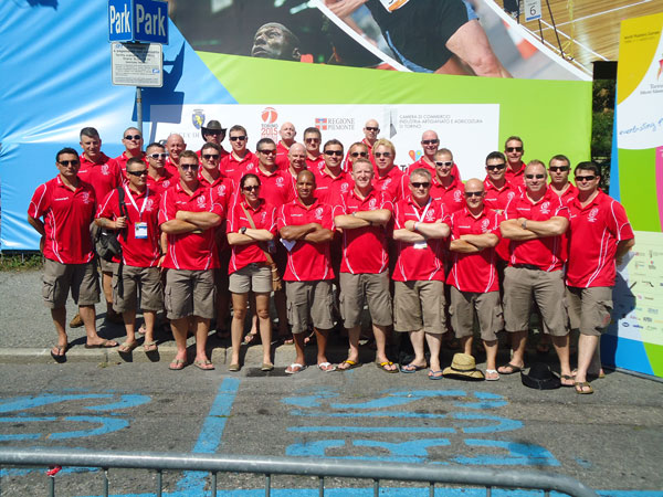 Masters team at the WMG  Games Village