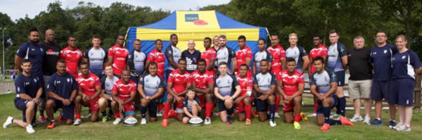 Reds and Sharks support RBL – Brothers in Arms