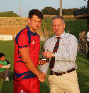 George Maine - Man of the Match