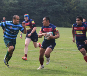 Sappers v Signals - close run
