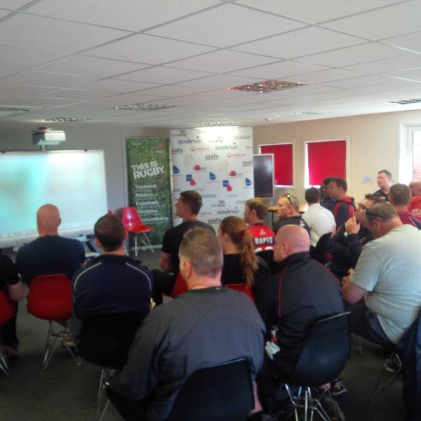 Army Rugby Union continual professional development (CPD) day Wed 27th May 2015