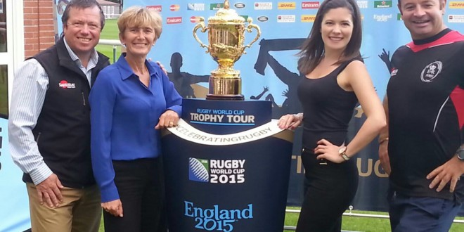 Rugby World Cup – England 2015 Trophy Tour