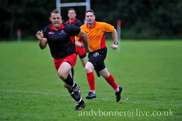 How dare an RAPTC Rugby Player beat me at sprints!