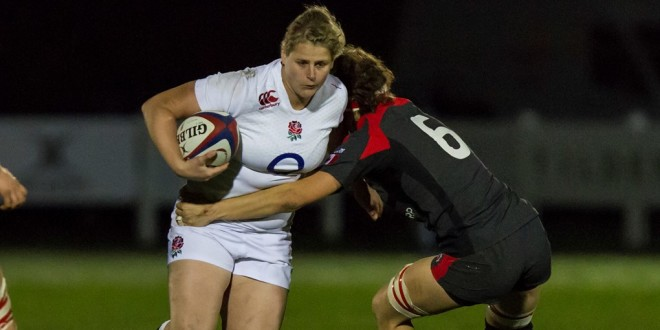 Dawson Enjoying Life on England's Front Line