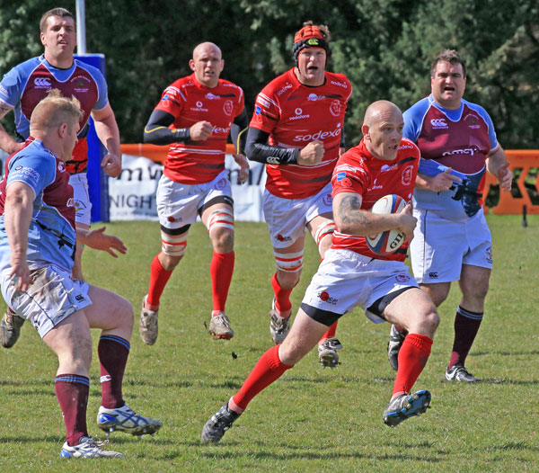 RAF Host Army for Great Rugby