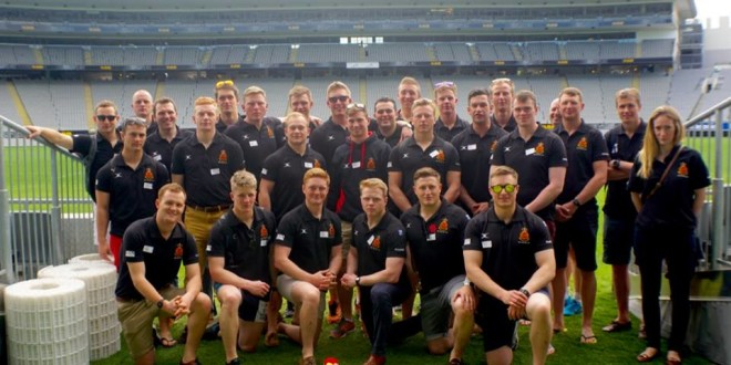 Royal Military Academy visit the land of the Silver Fern