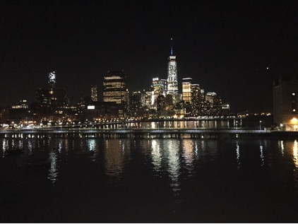 The Manhattan Skyline from Pier 40