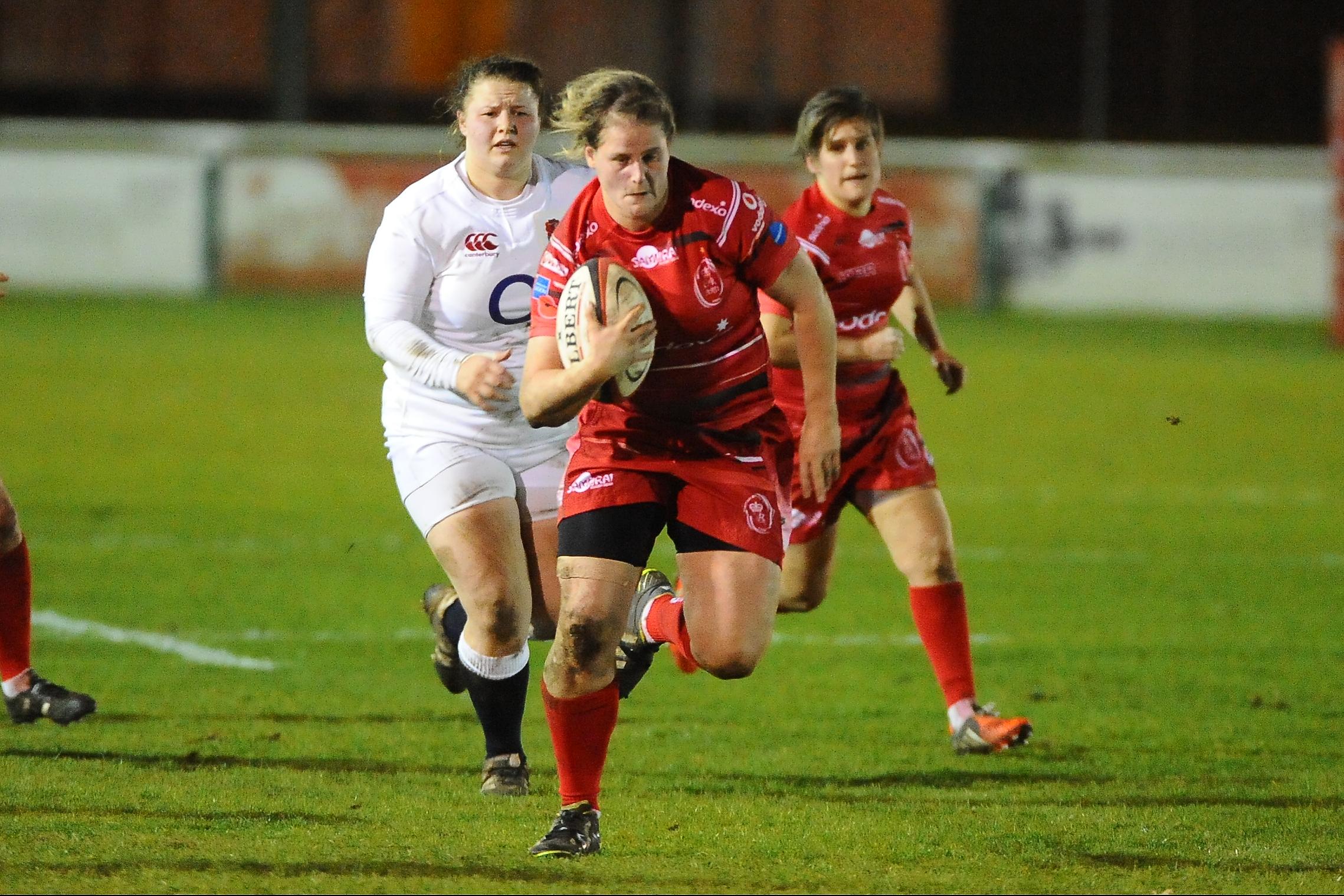 Army Women push all the way against England U20