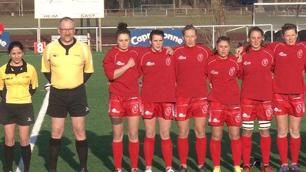 THE ARMY WOMEN DEFEAT RESURGENT GERMANY IN HEIDELBERG – SAT 21 JAN 17