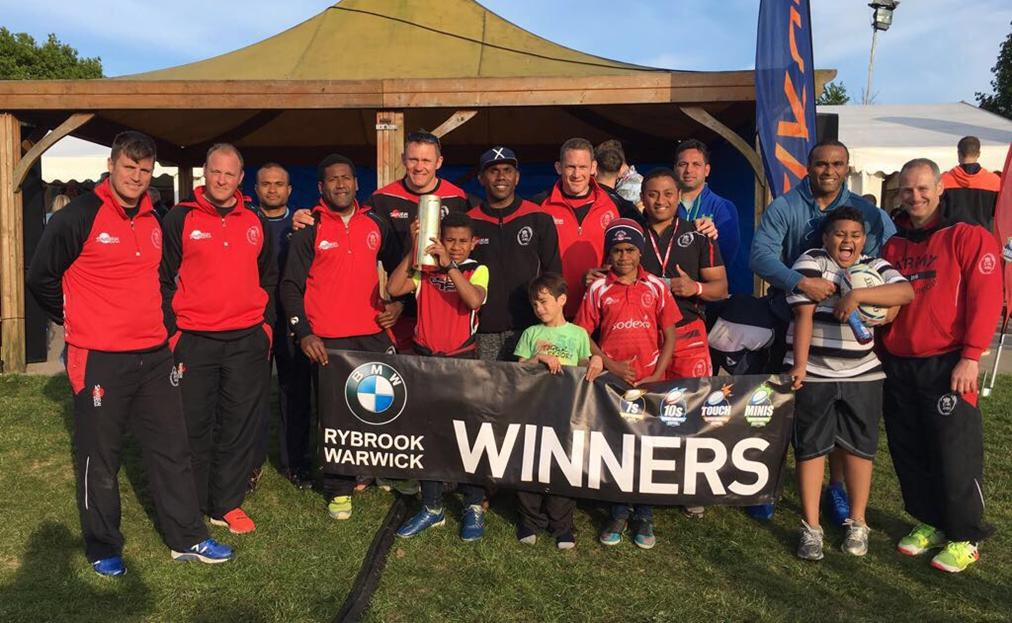 Army Masters at Rugby4Heroes