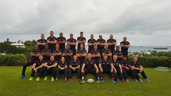 ARMY RUGBY UNION MASTERS – BERMUDA TOUR 2017