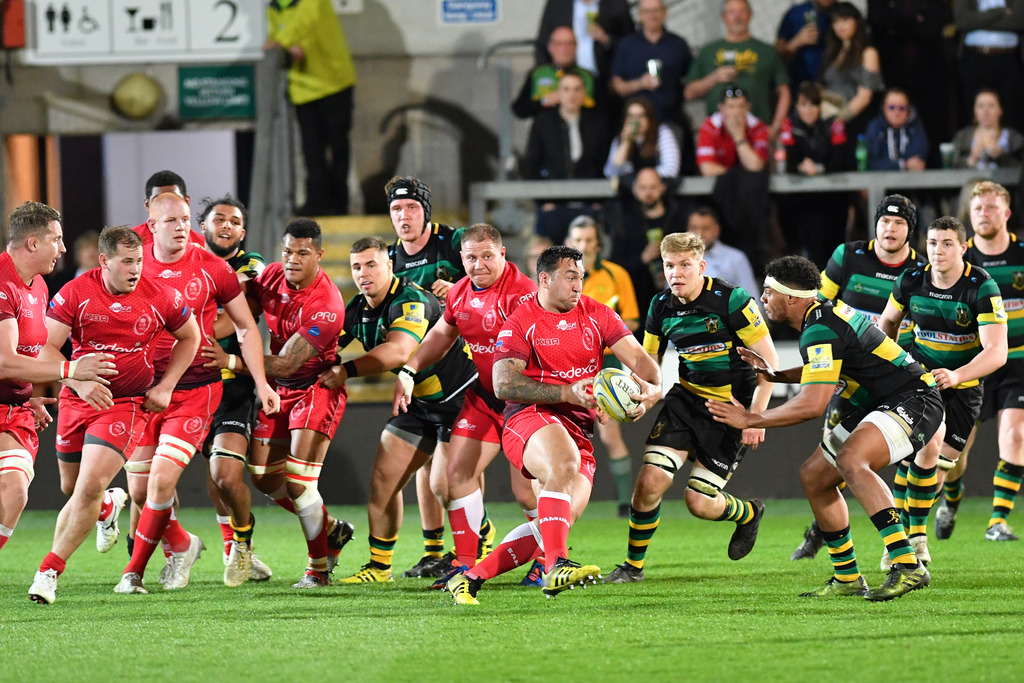 Mobbs Memorial Match: Northampton Saints 54 British Army 21