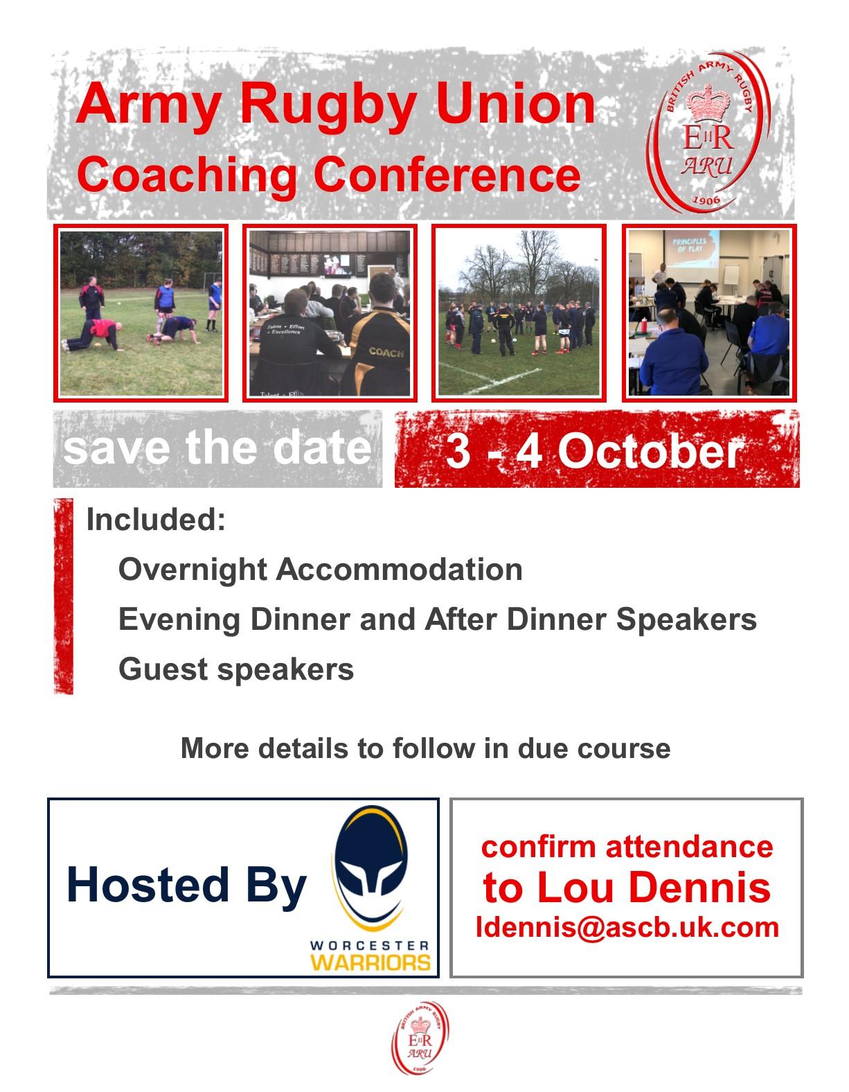ARU Coaching Conference