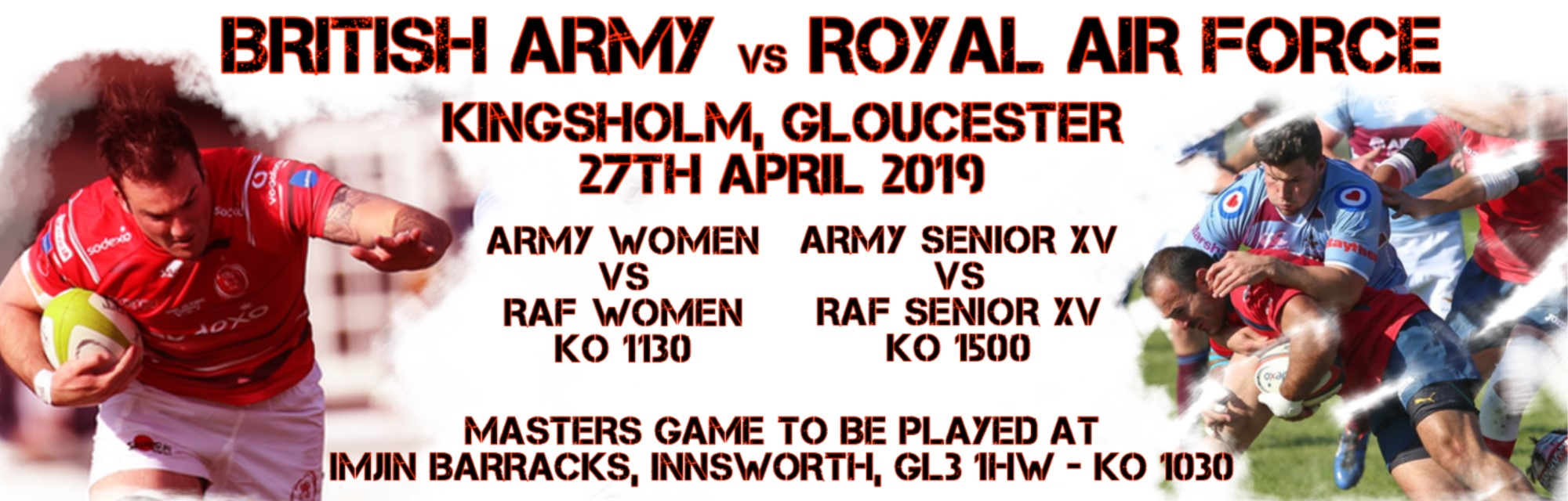 The 2019 Inter Services Championship returns to Kingsholm