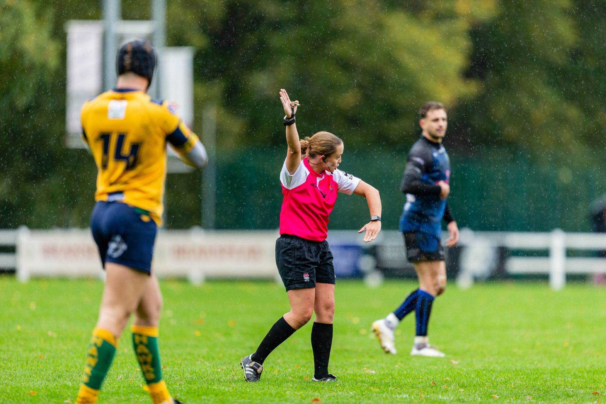 ARU Referee Nikki O'Donnell First Senior International Fixture