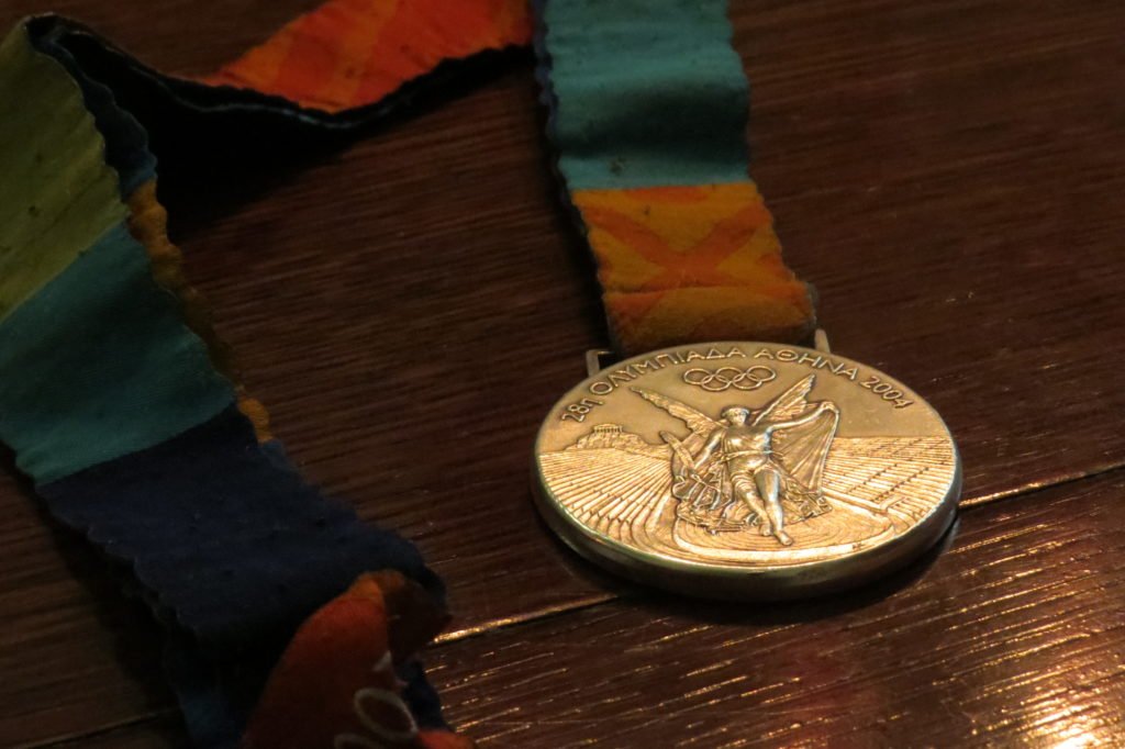 Athens 2004 Olympic Silver Medal