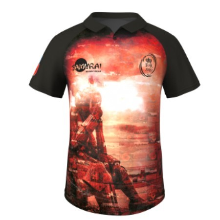 Official Army Rugby Union 2018 Poppy Remembrance Shirt - Tommy Soldier - Ladies