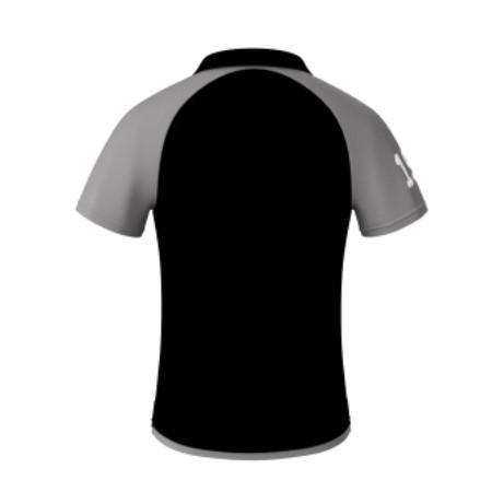 ARU Signature Polo Shirt - Black / Grey