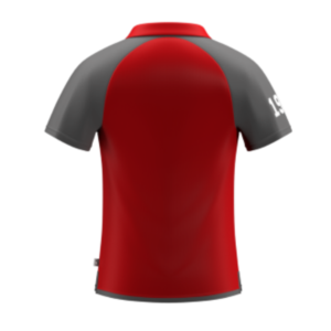 ARU Signature Polo - Red / Grey / White