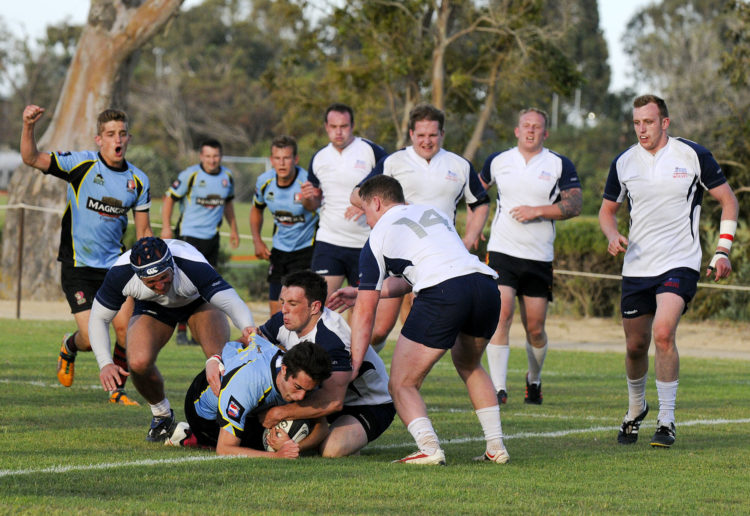 Images show the RAF Akrotiri international rugby tens competition 2013. The competition is held annually at RAF Akrotiri and sees teams from around the world competing in tens rugby. As well as a mens competition there is a womens competition and also a childrens competition. The RAF Akrotiri tens this year was held from the 27th to the 31st of May. The finals are all played on Friday and the competition ends with a band night and entertainment on the pitches.   For further information please contact:  Photo Section  RAF Akrotiri BFPO 57  Telephone: +35725276428 Email: aktphoto@cytanet.com.cy    British Crown Copyright 2013