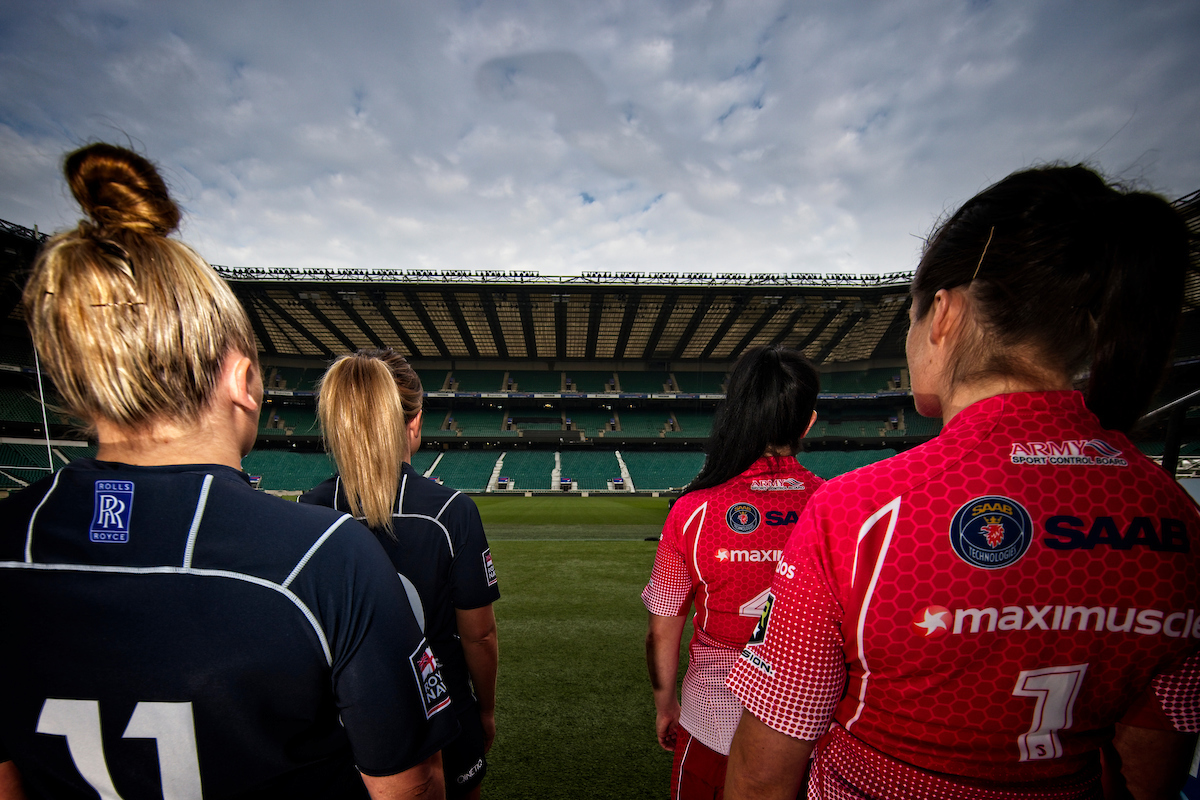 100 Years of the Inter Service Rugby Championship Concludes with Service Womens Rugby Twickenham Stadium Debut