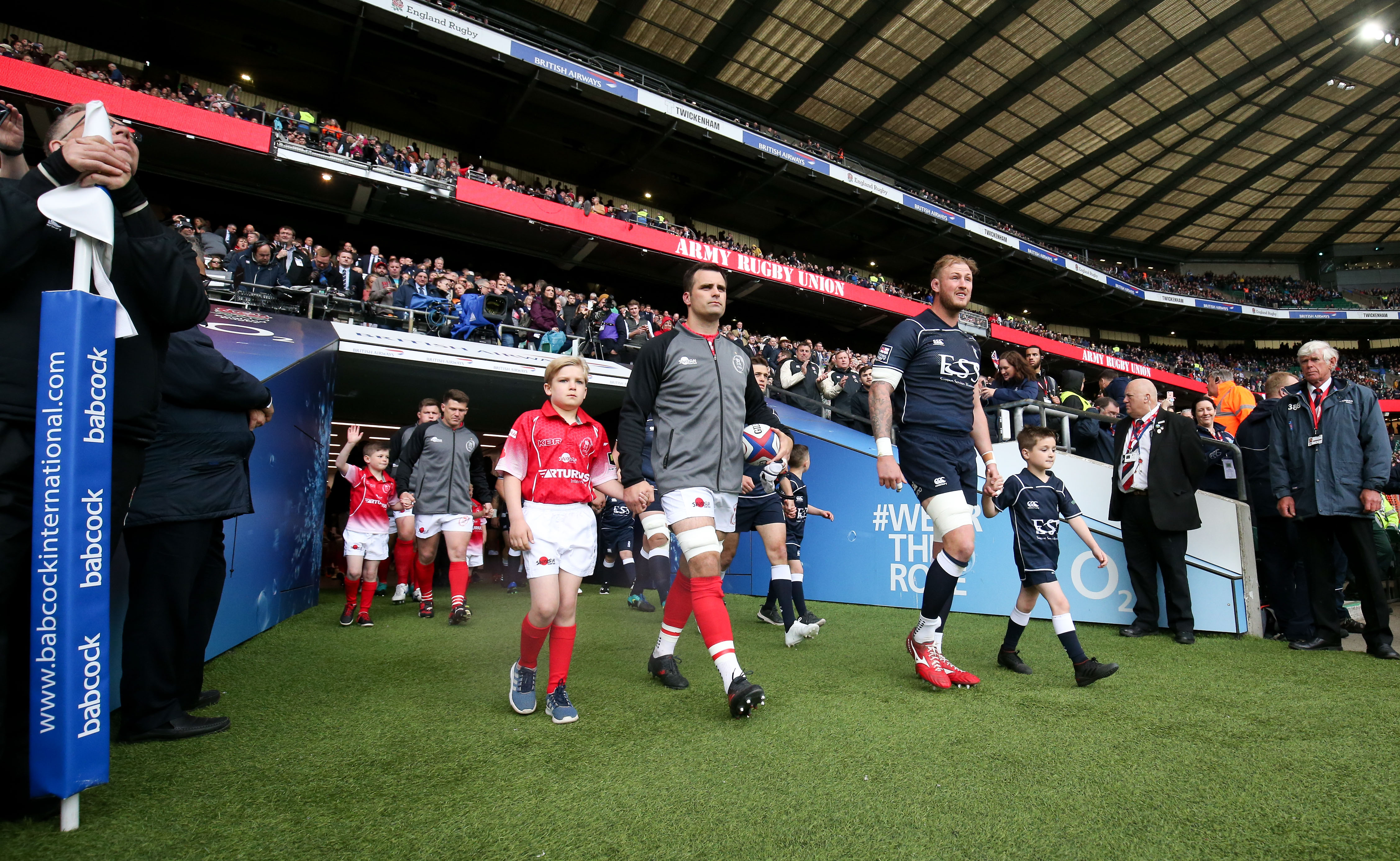 Lead the Reds out at Twickenham