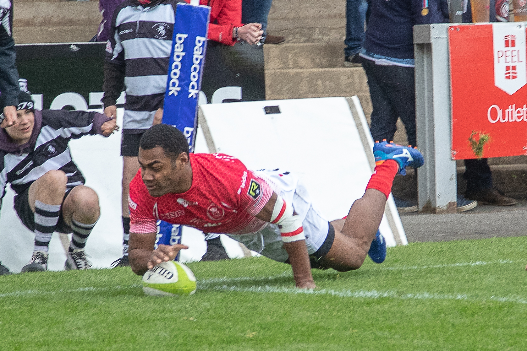 Pte Ratu 'Siva' Naulago, 1 YORKS, signs for Bristol Bears