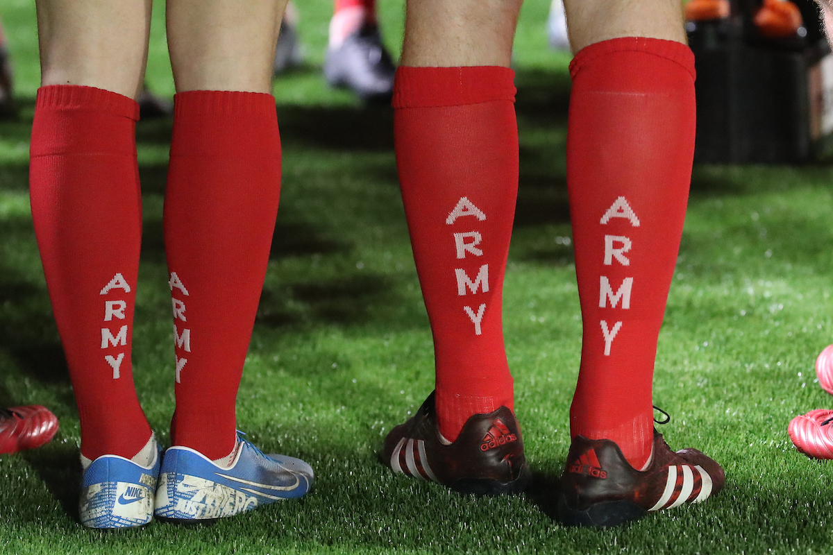 The ethos of rugby and the Army go hand-in-hand