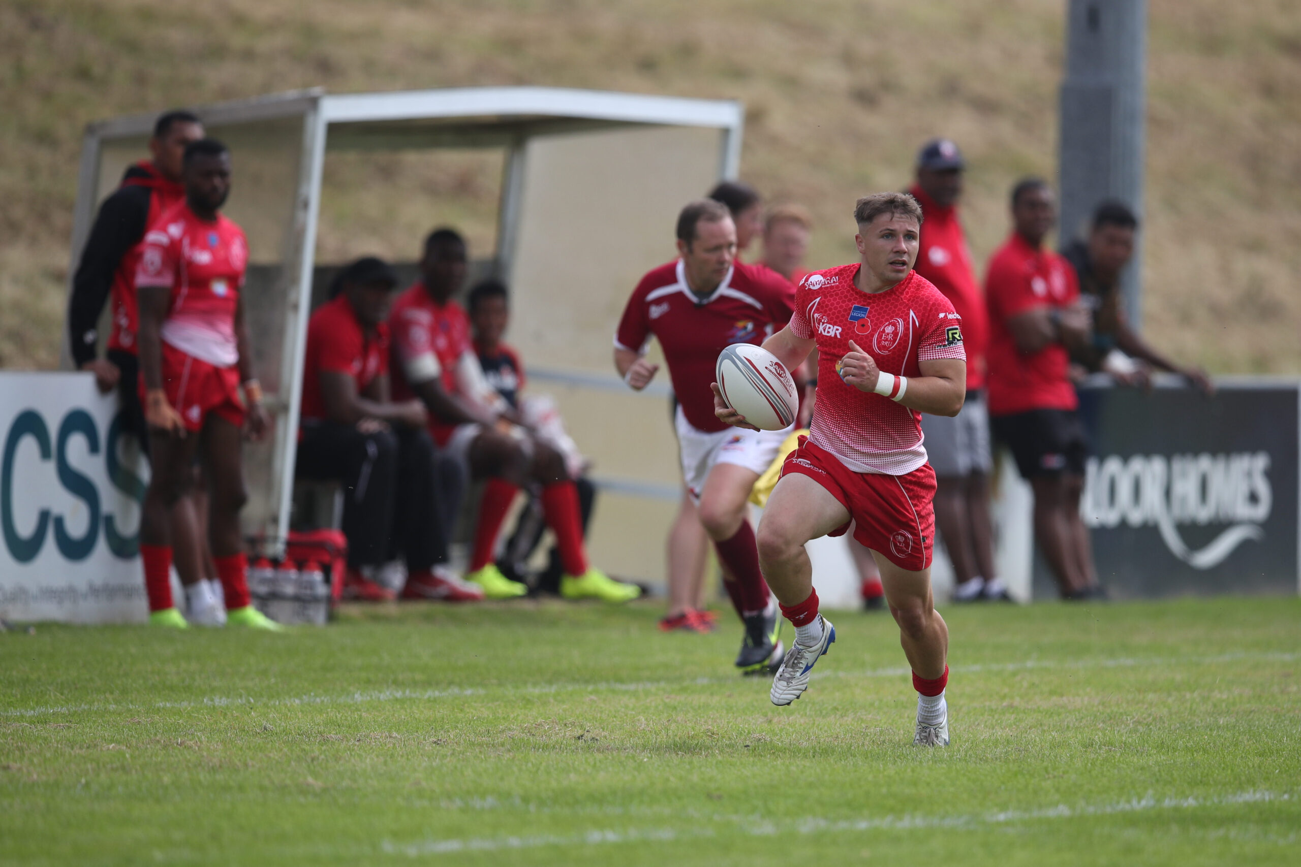 McDonald working off frustrations on the Sevens field
